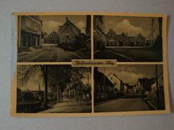 Pfeffenhausen B. Landshut, 4 Ansichten, Ungelaufen, Links Am Rand Etwas Abgeschabt - Landshut
