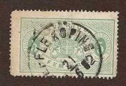 Sweden 1874 Official 5 Öre ... Perf 14 !! ... Mi.3A ... CV $50 - Service