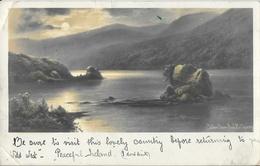 Colleen Bawn Rock Killarney - Clair De Lune - Kerry