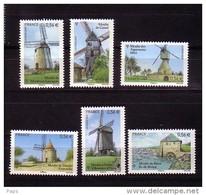 2010.N°4485/4490**LES MOULINS - France