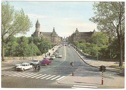 Luxembourg - Point (Pont) Adolphe - Caisse D'Epargne De L'Etat Et C.E.C.A. - Oldtimer VW Coccinelle, Renault, .. - 1967 - Luxembourg - Ville