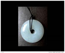 Roue En Jade / Chinese Jade Wheel Pendent - Pendentifs