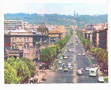 Asie - Arménie - Erevan - Yerevan -   Lot De 8 Cartes Grand Format - Arménie