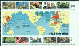 USA GUERRE 39 / 45 Les 4 Séries NxxTB 1972/81.2099/2108.2168/77.2242/51.cote 59 € - Nuevos