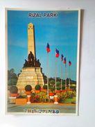 Postcard Rizal Park - Philippinen