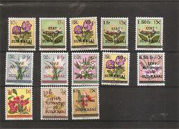 Sud-Kasai -Fleurs ( 1/13 XXX -MNH) - South-Kasaï