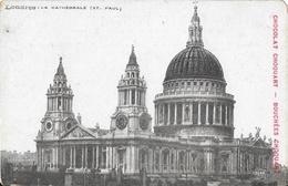 London - St Paul's Cathedral (Cathédrale) - Chocolat, Bouchées Chouart - Carte Non Circulée - St. Paul's Cathedral