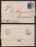 RUSSIE - MOSCOU / 1890 LAC POUR AMSTERDAM - HOLLANDE (ref 7546) - 1857-1916 Imperium