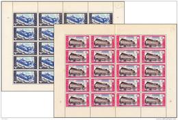 Belgium 1304/5** Le Pand à Gand   - Sheet  - 2 Feuilles De 20  MNH - Neufs