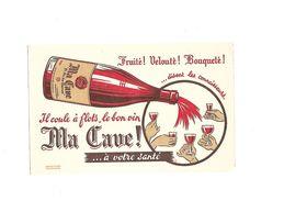 Buvard Ma Cave - Buvards, Protège-cahiers Illustrés