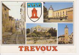01 TREVOUX   - MULTIVUES AVEC BLASON - - Trévoux