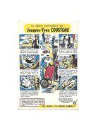 Buvard Jacques-yves Cousteau Le Destin Exemplaire - Buvards, Protège-cahiers Illustrés
