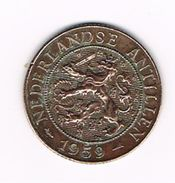 )  NEDERLANDSE ANTILLEN   2  1/2 CENTS  1959 - Antilles Neérlandaises