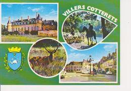 02 VILLERS COTTERETS - MULTIVUES AVEC BLASON - Villers Cotterets