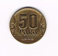 )  JOEGOSLAVIE  50  PARA  1938 - Yougoslavie