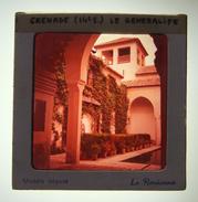 Diapositive En Couleurs Des Années 1960 - Espagne - Grenade - Alhambra - Généralife - Jannat Al-Arif - Dias