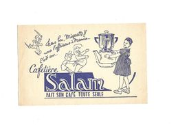 Buvard Cafetiére Salan - Buvards, Protège-cahiers Illustrés