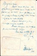 TARJETA POSTAL ENTERO INTERO ENTIER REPUBLICA ESPAÑOLA CIRCULADO 1936 DESDE LA FERRETERIA LA CRUZ ROJA DE EULOGIO PINO E - Interi Postali
