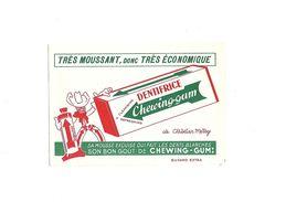 Buvard Dentifice Chewing-gum - Buvards, Protège-cahiers Illustrés