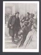 1960. USSR. Postcard. Lenin With The Red Guards. P.V. Vasilev. VIII-566. - Hombres Políticos Y Militares