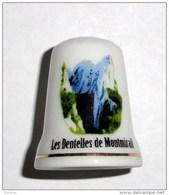 De A Coudre En Porcelaine Dentelles De Montmirail - Dedales