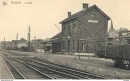 17/8 Bousval Genappe Brabant Wallon Gare Station Copie - Genappe
