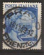 1949 - Bimillenario Morte Catullo - Sassone N. 614 - 1946-60: Used