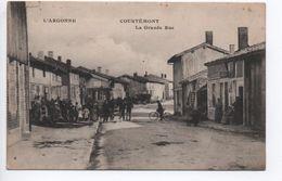 COURTEMONT (51) - LA GRANDE RUE - France