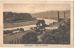 ESSEN  RUHR Blick Ins Ruhrtal - Written - Essen