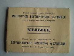 Bierbeek // Carnet - Boekje Met 13 Ipv 12 Kaarten? Institution St.Camille - St.Camillus (GF)  // Zeldzaam - Bierbeek