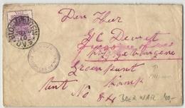 Oranjefluss-Kolonie - Beleg Aus Bloemfontein 1900 (548301) - Südafrika (...-1961)