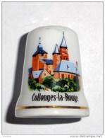 De A Coudre En Porcelaine Collonges La Rouge - Dedales