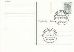 B P 136    80 Pf Sehenswürdigkeiten  - Zelle Zollern In Dortmund, Frankfurt Am Main - Postkarten - Gebraucht