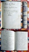 HANNONVILLE (d'). Histoire De France. Maison Royale De France. Manuscrit. 1729 - Livres, BD, Revues