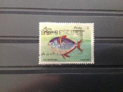 Cuba - Vissen (3) 1981 - Gebruikt