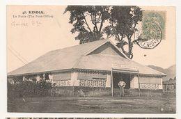 Guinnee Française - 48 - Kindia - La Poste -   CPA° - Guinée Française