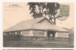 Guinnee Française - 48 - Kindia - La Poste -   CPA° - Französisch-Guinea