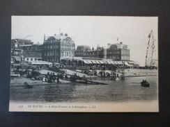76 - Le Havre - CPA  -  L'Hôtel Frascati Et Le Sémaphore  - L.L  N°457 - 1906 - - Haven