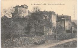 CPA 82 - Bruniquel - Ruines Extérieures Du Château - Non Classificati