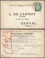 CC452 Carte De Namur à Genval ( Librairie De Lannoy ) 1946 - Belgique