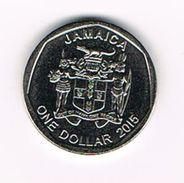 ) JAMAICA  1 DOLLAR  2015 - Jamaica