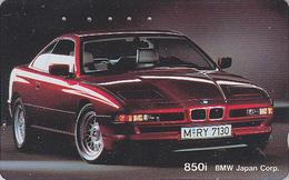 Télécarte Japon / 110-011 - VOITURE - BMW 850 I - CAR Japan Phonecard - AUTO Telefonkarte - COCHE / Germany - 3134 - Autos