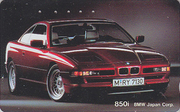 Télécarte Japon / 110-011 - VOITURE - BMW 850 I - CAR Japan Phonecard - AUTO Telefonkarte - COCHE / Germany - 3134 - Cars