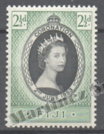 Fiji - Fidji 1953 Yvert 135, Coronation Of Queen Elizabeth II - MNH - Fiji (1970-...)