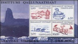 Grönland 2001, Mi. Bl. 20 ** - Blocchi