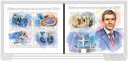 TOGO 2014 ** M/S + S/S Founding Of NATO President Truman A1421 - NATO