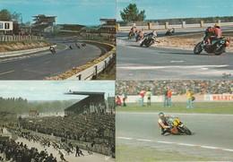 Lot De 6 CPM Le Mans Courses De Motos. - Le Mans