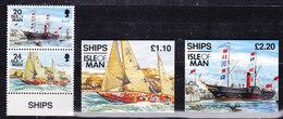 Isle Of Man 1993 Ships 2v + 2 Booklets ** Mnh (36611) - Isla De Man