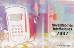 Andorra : Noves Cabines Telefòniques 2007 Febrer - Andorra
