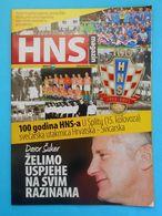 CROATIA : SWITZERLAND 2012. Football Match Programme Soccer Fussball Programm Programma Calcio Suisse Schweiz Svizzera - Books